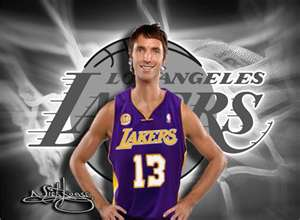 From the newest Los Angeles Laker