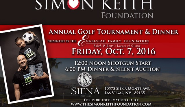 2016 Golf Tournament Date Announcement