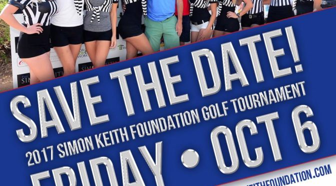 2017 Golf Tournament Date Announcement
